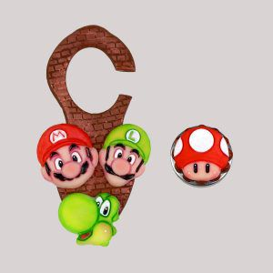 Cortador Kit Mario com 4 pçs