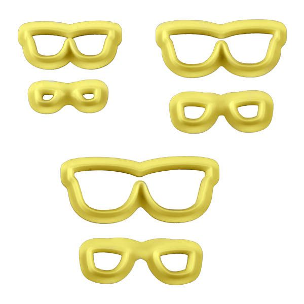 Cortador  Óculos com 3pçs