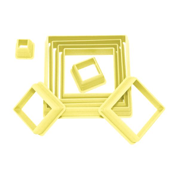 Cortador quadrado c/8 pçs