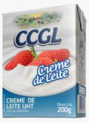 CREME DE LEITE UHT 20% de Gordura 200g - CCGL (VALIDADE 06/03/21)