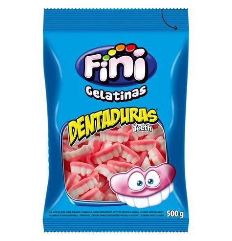 Dentaduras de gelatinas Açucaradas - 90g