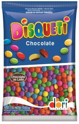 DISQUETI CHOCOLATE AO LEITE 1,01Kg
