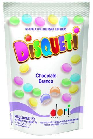 DISQUETI CHOCOLATE BRANCO 150g