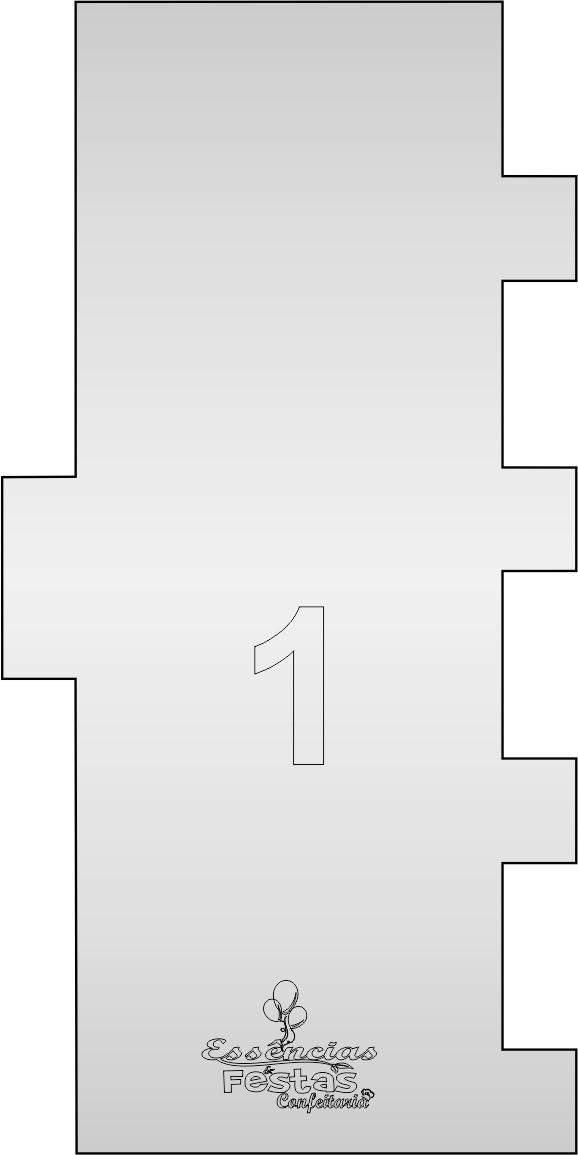 Espátula de acrilico 3mm  Decorativa N°1