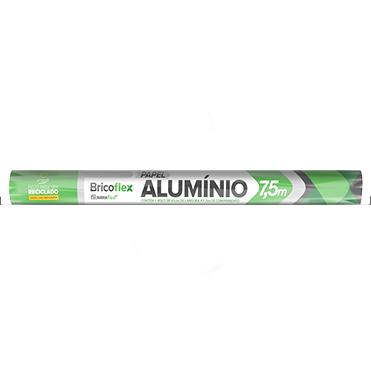 Folha de Alumínio 30cm x 7,5m - BRICOFLEX