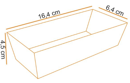 Forma Bolo Inglês -  Forneavél - Decorada 250g - 10UN - Ecopack