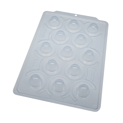 Forma de acetato com silicone bombom (micro trufa) SP40