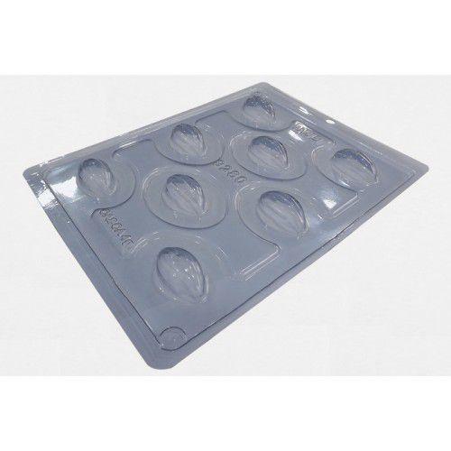 Forma de acetato com silicone cacau