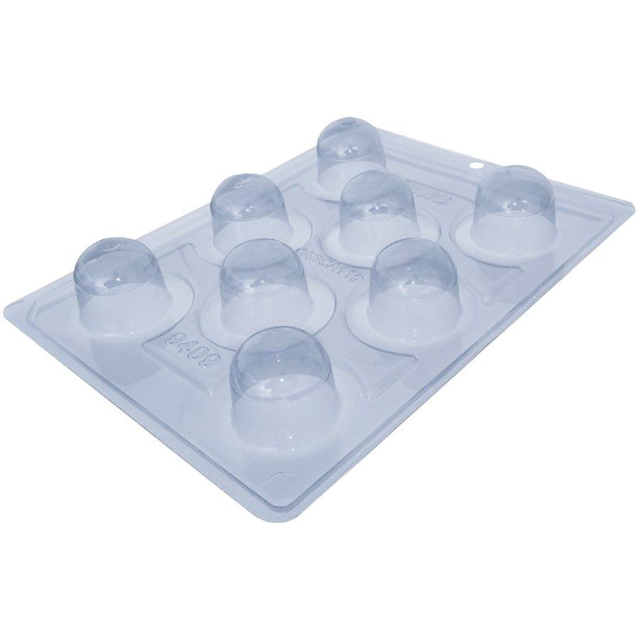 Forma de acetato com silicone copo mousse 2