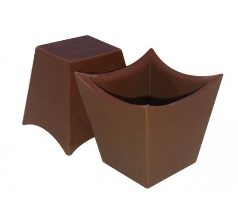 Forma de acetato com silicone mousse 3