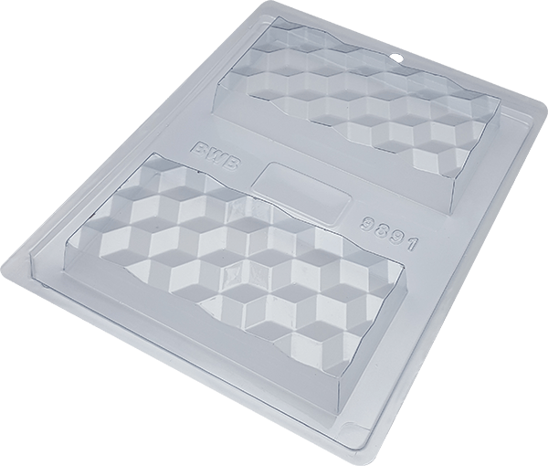 FORMA DE ACETATO COM SILICONE TABLETE 3D