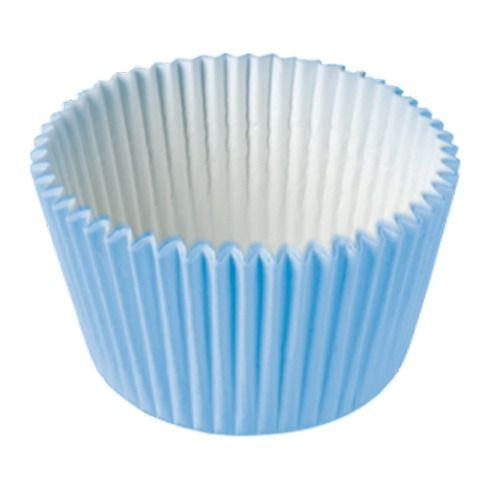 Formas p/ Cupcake Azul Claro C/45 UN