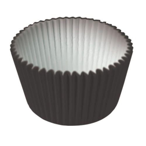 Formas p/ Cupcake Preto C/45 UN
