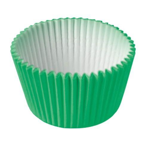 Formas p/ Cupcake Verde Bandeira C/45 UNI