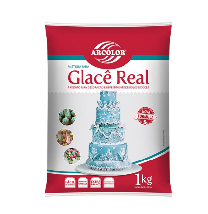 Glacê Real Arcólor 1kg