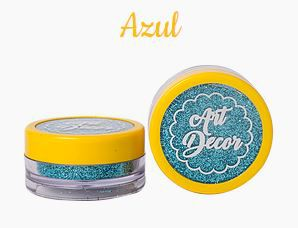 Glitter comestível Art Decor Azul claro 5g