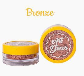 Glitter comestível Art Decor Bronze 5g