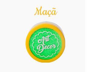 Glitter comestível Art Decor Verde Maçã 5g