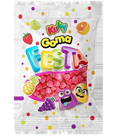 GOMA FESTA MORANGO - 500g
