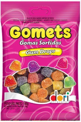 GOMETS GOMA AMERICANA DROPS 100G