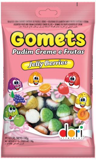 GOMETS GOMA PUDIM 100G