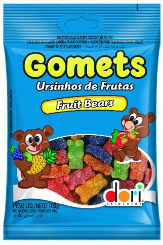 GOMETS GOMA URSO 100G