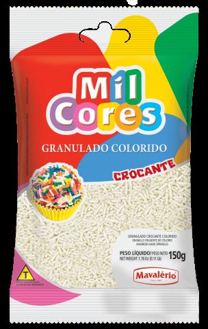 Granulado crocante branco – 150g