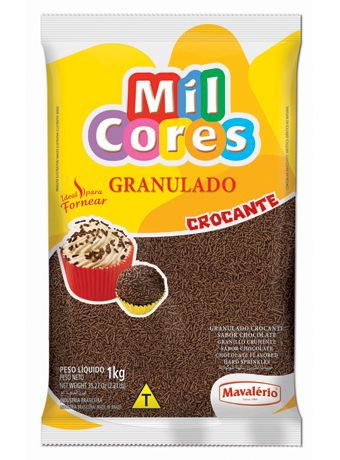Granulado Crocante chocolate 500g
