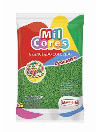 Granulado Crocante verde 500g