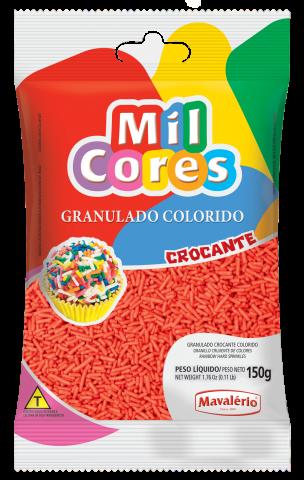 Granulado crocante vermelho – 150g