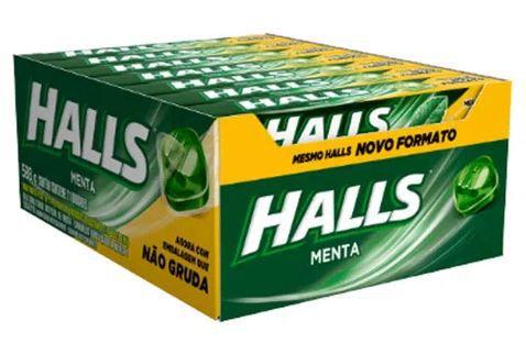 HALLS - MENTA 21 UN X 28 G