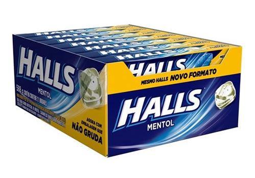 HALLS - MENTOL 21 UN X 28 G