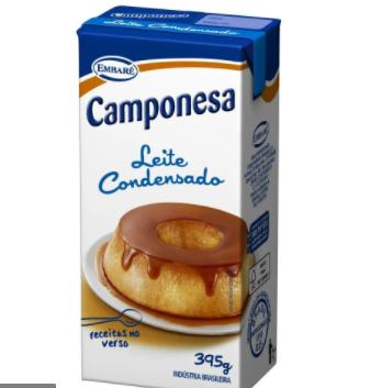Leite Condensado integral 395 g - CAMPONESA