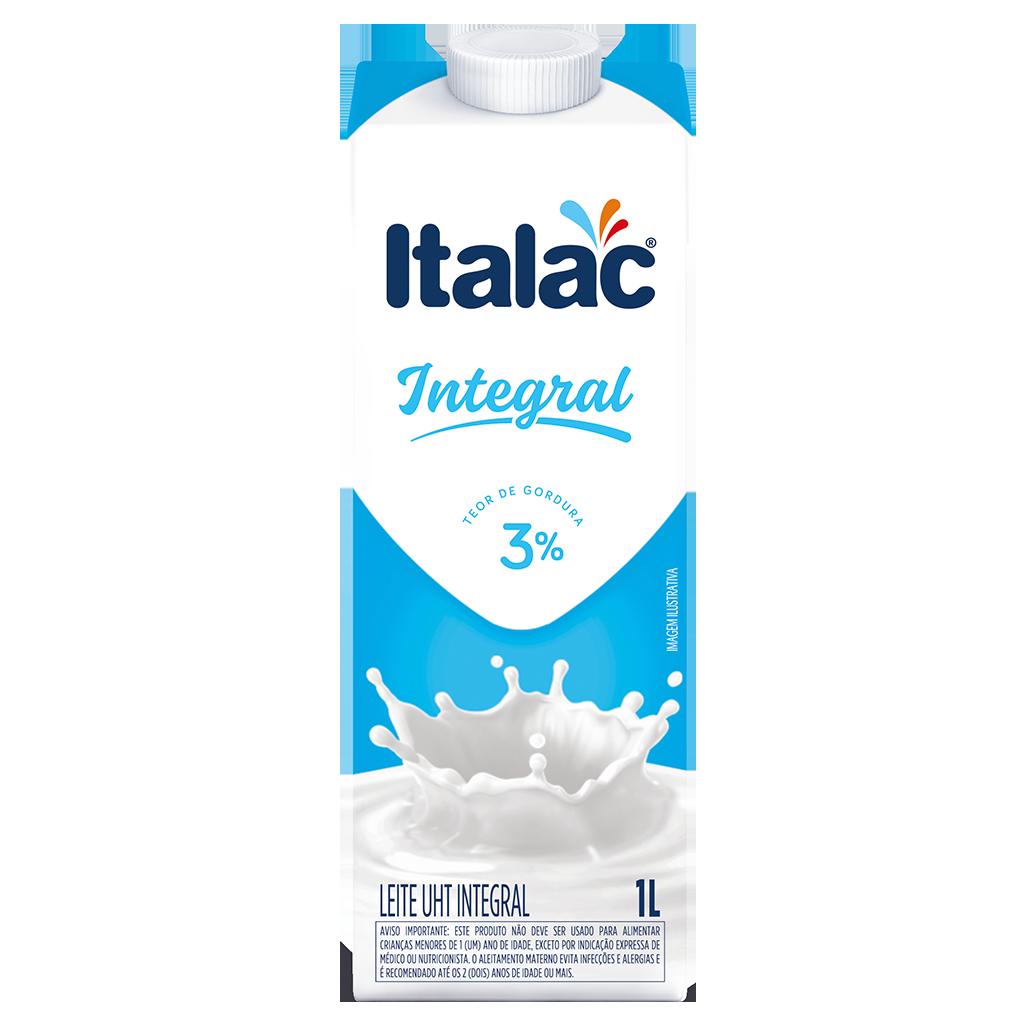 Leite UHT Integral 1L - ITALAC