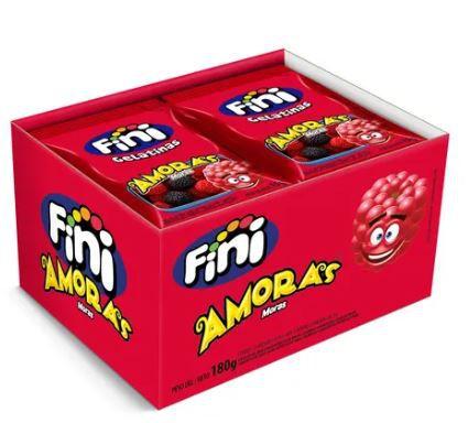 Mini Amoras - com 12 pacotes de 15g.