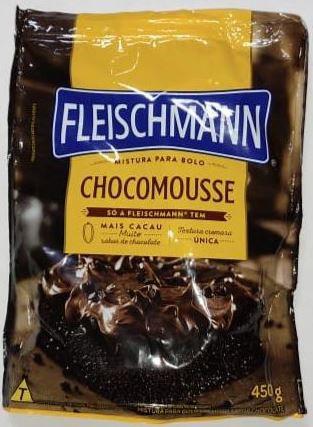 Mistura para bolo Chocomousse 450g  - fleischmann