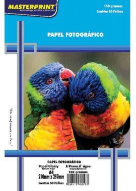 Papel fotográfico 150g c/50 folhas