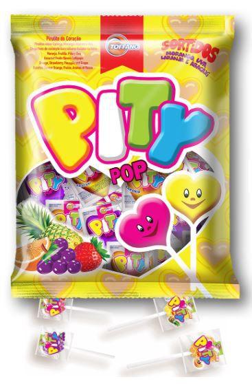 PITY POP 200G - PIRULITO FRUTAS