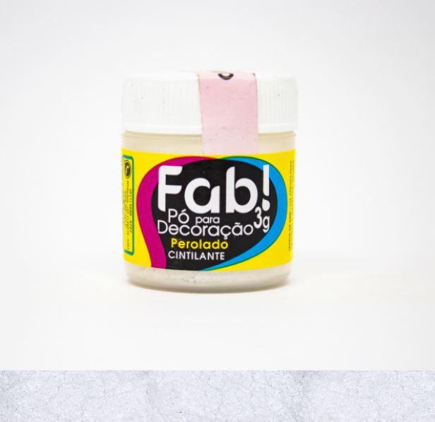 Pó para decoração Perolado Fab! 3g