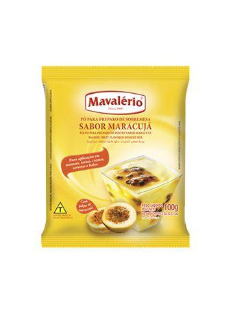 Pó para Preparo de Sobremesa Sabor Maracujá 100g