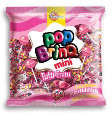 POP BRINQ MINI 300g - PIRULITO TUTTI-FRUTTI