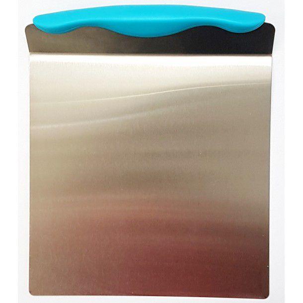 Salva bolo prime chef em aço inox - 20x23,5cm