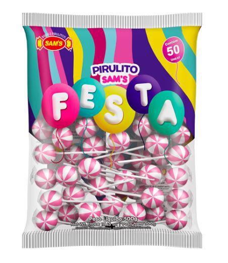 Sam's Festa Morango Rosa - 500g