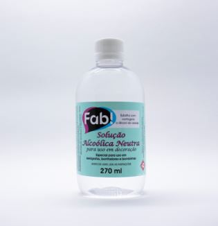 Solução Alcoólica Neutra Fab! 270ml