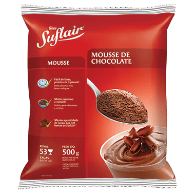 SUFLAIR® Mousse de Chocolate 500g