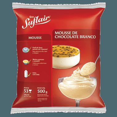 SUFLAIR® Mousse de Chocolate Branco 500g