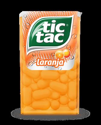 TIC-TAC LARANJA 14 UN X 16 G