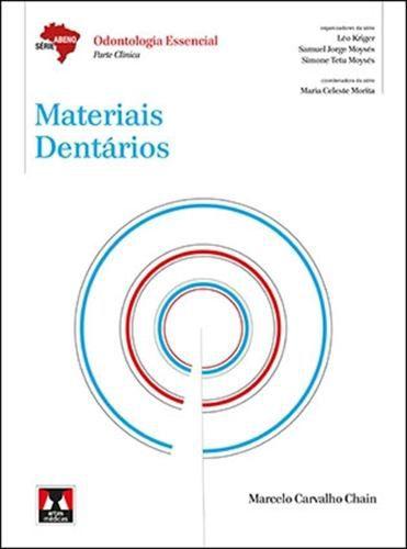 Livro Materiais Dentários  - LIVRARIA ODONTOMEDI