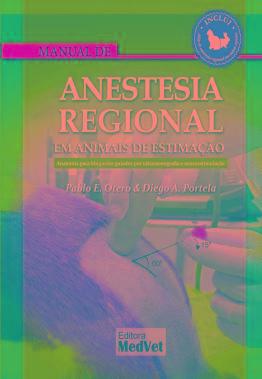 Manual De Anestesia Regional Em Animais De Estimação  - LIVRARIA ODONTOMEDI