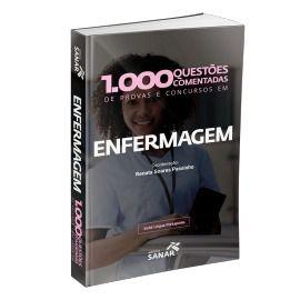 1.000 Questões Comentadas De Provas, Concursos Em Enfermagem  - LIVRARIA ODONTOMEDI